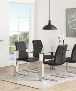 Dkton 23245 Moderná stolička Alcwin