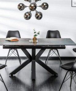 LuxD Dizajnový jedálenský stôl Zariah