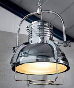 LuxD 16724 Lampa Commercial II 35cm chróm závesné svietidlo