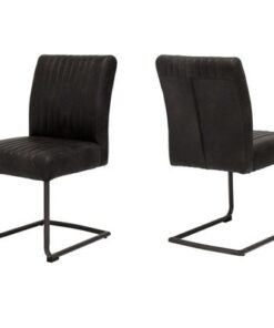 Catalent 19359 Dizajnová stolička Karla / čierna