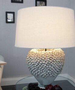 LuxD 17140 Stolná lampa Sissi biela