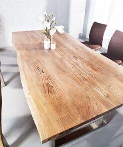 LuxD Luxusný jedálenský stôl z masívu Massive 160cm