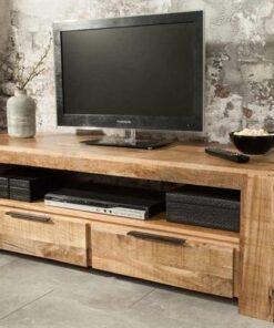 LuxD Dizajnový TV stolík Thunder 130 cm mango