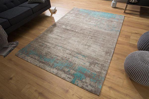 LuxD Dizajnový koberec Rowan 240x160 sivobéžový modrý