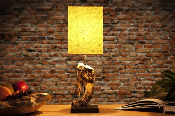 LuxD 17118 Stolná lampa REST béžová