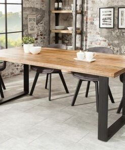 LuxD Jedálenský stôl Thunder 200 cm mango