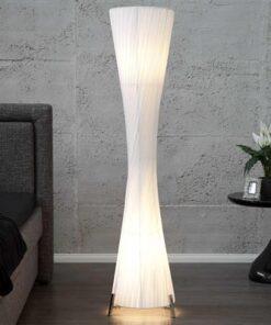 LuxD 17057 Stojanová lampa SPIRAL XXL biela Stojanové svietidlo