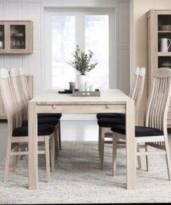 Furnistore Dizajnový jedálenský stôl rozkladací Aalto