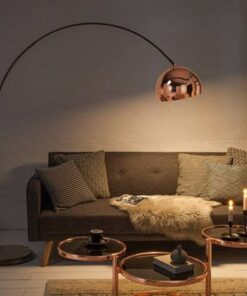 LuxD 21374 Dizajnová stojanová lampa Arch