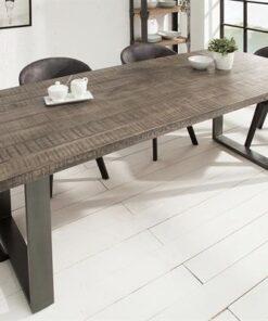 LuxD Jedálenský stôl Thunder 180 cm sivé mango