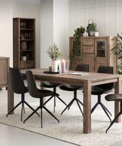 Furnistore Moderný jedálenský stôl rozkladací Aarav