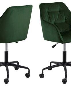 Dkton Kancelárska stolička Alarik zelená