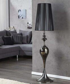 LuxD 17069 Stojanová lampa LUCY čierna 160 cm Stojanové svietidlo