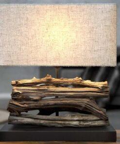 LuxD 17131 Stolná lampa FERRE bežová