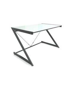 Meble PL Dizajnový stôl Brik čierna/biela