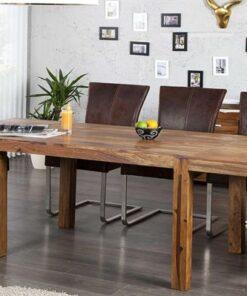 LuxD Jedálenský stôl z masívu rozkladací Las Palmas 120-200cm