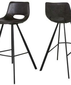 Catalent Barová stolička Izabella 98 cm / čierna