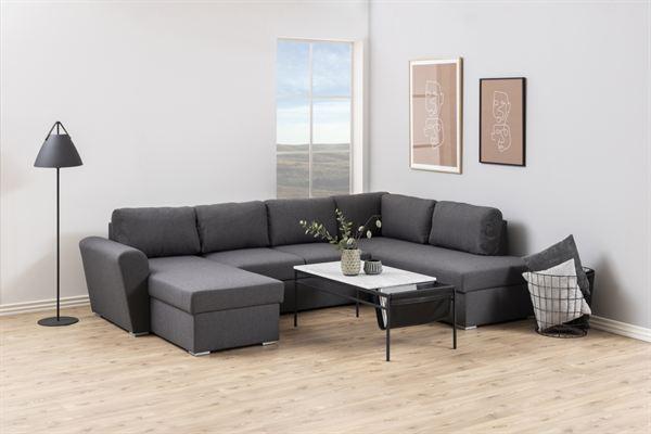 Dkton Dizajnová sedacia súprava Nanala 297 cm pravá