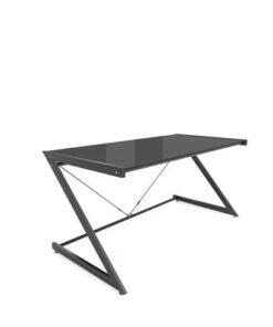 Meble PL Dizajnový stôl Prest čierna/čierna