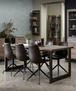 Furnistore Dizajnový jedálenský stôl rozkladací Aart