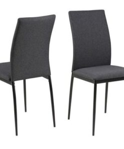 Dkton 22906 Dizajnová jedálenská stolička Midena