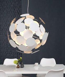 LuxD 17434 Lampa Sunshine biela závesné svietidlo