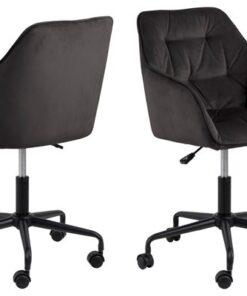Dkton Kancelárska stolička Alarik sivá