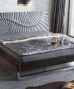 LuxD Štýlová posteľ Shayla 180 x 200 cm čierne mango