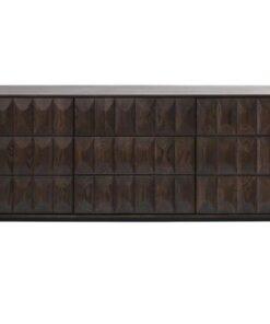 Furniria Dizajnová komoda Kimora - 3 priečinky