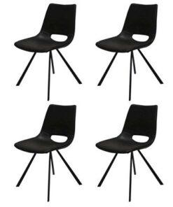 Catalent 19864 Dizajnová stolička Izabella / čierna