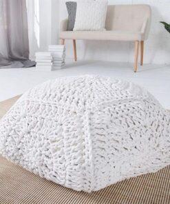 LuxD Dizajnová taburetka Lilly II / biela