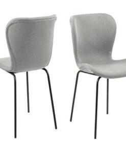 Dkton 23366 Dizajnová jedálenská stolička Alejo