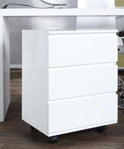 LuxD 15967 Zásuvková skrinka Boss biela