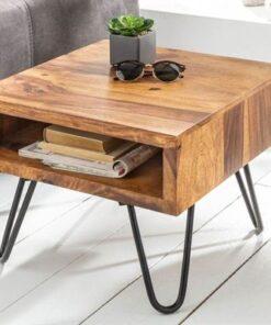 LuxD Odkladací retro stolík Shayla