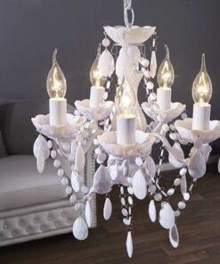 LuxD 16778 Luster Barisimo S biely závesné svietidlo