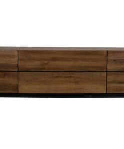 Catalent Dizajnová komoda West hnedá 215 cm
