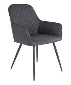 Norddan 21197 Dizajnová jedálenská stolička Gracelyn