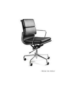 Meble PL Kancelárska stolička West nízka / eko koža