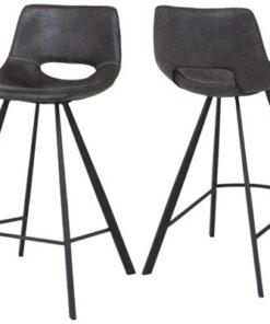 Catalent Barová stolička Izabella 87 cm / čierna