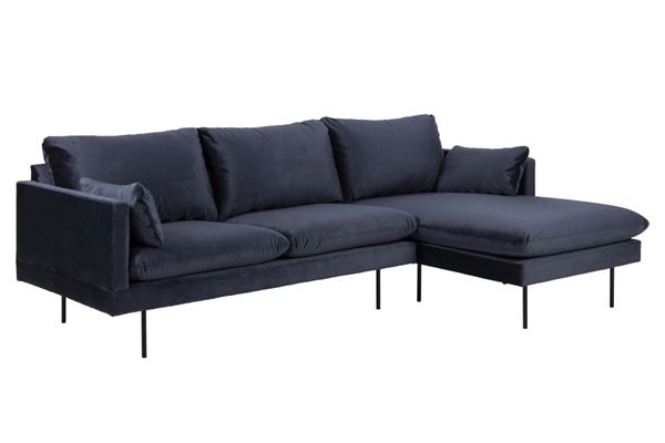Dkton Dizajnová sedacia súprava Nanjala 242 cm pravá
