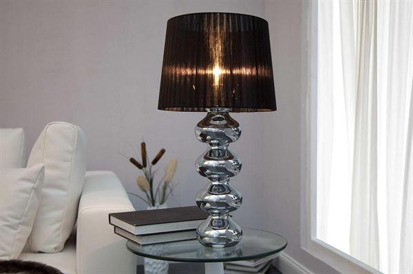 LuxD 17147 Stolná lampa Milly čierna