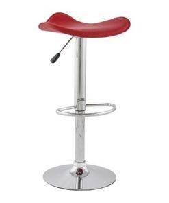 DesignS Moderná barová stolička Connor červená