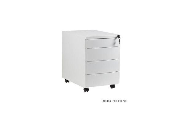 Meble PL 18750 Štýlová skrinka Carmel biela