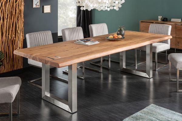LuxD Jedálenský stôl Massive Artwork 200 cm prírodná akácia - Otvorené balenie - RP