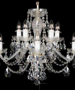 LuxD 17996 Krištálový luster Grande R10 závesné svietidlo