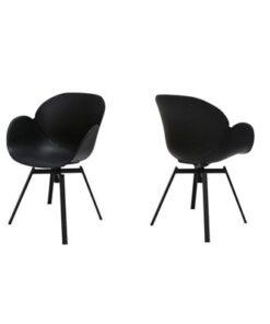 Catalent 19348 Dizajnová stolička Olive / čierna