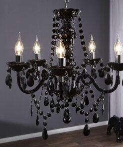 LuxD 16794 Luster Barisimo čierny závesné svietidlo