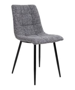 Norddan 21848 Dizajnová stolička Dominik sivá