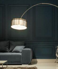 LuxD 16871 Stojanová lampa Ample čierna Stojanové svietidlo