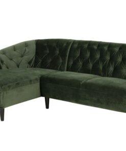 Dkton Luxusná sedacia súprava Nyree 222 cm ľavá
